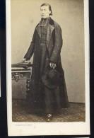 Photographie CDV C. 1860-70 Sabatier Photographe Au Puy - Homme D' église - Photo Albuminée - Mars Phot4 - Anciennes (Av. 1900)