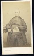 Photographie CDV C. 1860-70 Sabatier Photographe Au Puy - Homme D´ église - Photo Albuminée - Mars Phot4 - Anciennes (Av. 1900)
