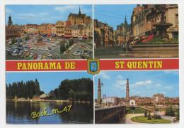 {54118} 02 Aisne Panorama de Saint Quentin , multivues ; divers aspects