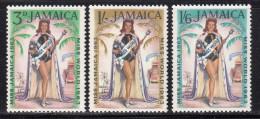 Jamaica MNH Scott #205-#207 Set Of 3 Carole Joan Crawford, Miss World 1963 - Jamaique (1962-...)