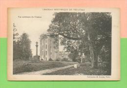 CPA  FRANCE  60  ~   VEZ  ~  Château De Vez, Vue Extérieure Du Château  ( Coll. M. Cautin ) - Francia