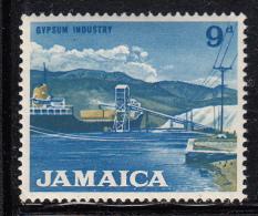 Jamaica MH Scott #225 9p Gypsum Industry - Jamaique (1962-...)
