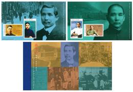 2016 HONG KONG 150 ANNI. OF DR.SUN YAT SEN Booklet - 1997-... Chinese Admnistrative Region