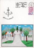 BPM 510 Flamme 2ème Cie De La Poste Militaire Le 28.9.81 à RAMMERSWEIER - Poststempel (Briefe)