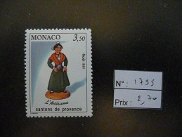 Timbre MONACO N° 1795 - Neuf - Catalogue : YVERT & TELLIER 2013 - Neufs