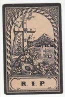 Décès 2 Personnes Paschal Joseph DELFOSSE échevin Trembleur Blegny 1894 Et Son épouse MarieJeanne LERUTH Blegny 1903 - Images Religieuses