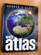 WELTATLAS Von Reader`s Digest, 318 Seiten, Ausgabe Um 2004, Sehr Guter Zustand, Größe Ca.37 X 28 X 3 Cm - Mapamundis