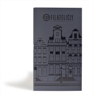 Pocket Stamp Album CITIES Amsterdam Canal Houses – Limited Edition - Free Shipping In NL - Classificatori