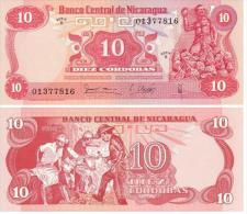 Nicaragua 10 Córdobas 1979 Pick-134 UNC - Nicaragua