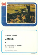 23  GUERET  Janine  6 Rue De Paris   De 1976 ( Calendrier ) - Calendars
