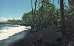 Kalapana - Black Sands Beach - Big Island Of Hawaii