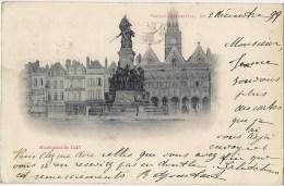 SAINT-QUENTIN - Monument de 1557 - Carte de 1899