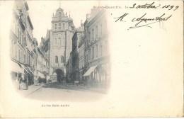 SAINT-QUENTIN - La rue Saint-Andr� - Carte de 1899