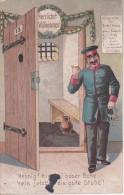AK Hennig! Hennig! Böser Bube - Rudolf Hennig (Raubmörder) - 1906 (13160) - Gefängnis & Insassen