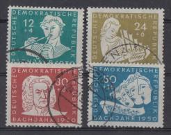 DDR Minr.256-259 Gestempelt - DDR