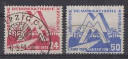 DDR Minr.282-283 Gestempelt - DDR