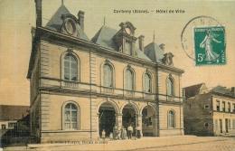 CORBENY HOTEL DE VILLE EDITION GOULET TURPIN TOILEE COULEUR
