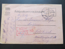 Postkarte FELDPOST Steyr - Feldkirch 1917 //  D*15637 - 1850-1918 Imperium