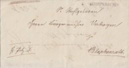 Brief Gelaufen Von Buchenbeuren Am 9.2.1823 Nach Blankenrath - [1] Prephilately