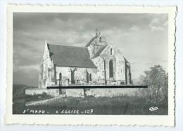 CPM - L�Aisne Pittoresque - St Saint Mard - L'Eglise