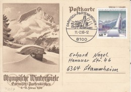OLYMPISCHE SPIELE-OLYMPIC GAMES, Germany, 1993, Special Postmark !! - Giochi Olimpici