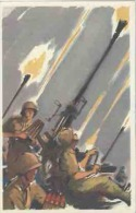 Militaria Militaire Série Armements N° 23 D.C.A En Action - Umoristiche