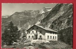 BXE-23  Fionnay, Hotel Du Glacier De Giétroz, Mauvoisin. Bagnes. Cachet Fionnay Sur Timbre Commémoratif CFF 1847-1947 - VS Valais