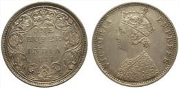1 Rupee 1877 (British India) Silver - India