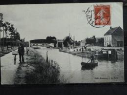 L4 - 02 - La fere - Le canal - 1913 - edition Bonneau