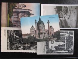 AK Lot 5 Postkarten WIEN Bis 1945 /// U7975 - Prater