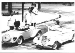 Carte Postale Voiture Jouets Anciens CITROEN VOITURE A PEDALES 1938 - Jeux Et Jouets