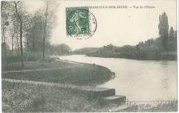 CPA 51 - Marcilly Sur Seine - Vue De L'Ecluse - France