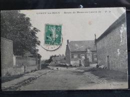 L4 - 02 - Cerny les Bucy - Route de Mons en Laonnois - edition benjamin - 1914