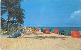 CPM USA - Ocean Bathing Beach - Lauderdale - Florida - Fort Lauderdale