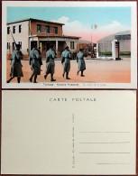 WW2 - Photographie / Carte Postale Toulouse Francazal La Relève De La Garde - Armée De L´air Aviation - Guerre 1939-45