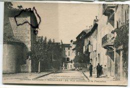 - 24 - SAILLANS - ( Drôme ), Vue Centrale Et La Fontaine,  écrite En 1918, Petite Animation, TBE, Scans. - Frankreich