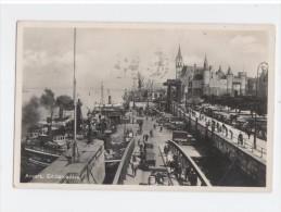 Antwerpen -  Anvers-  Aanlegplaats En Steen - Embarcadère - Photo Card - Gelopen - Antwerpen