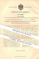 Original Patent - Adolf Hermann Zönnchen In Cotta B. Dresden , 1903 , Kaffemühle Mit Bohnenbehälter !!! - Dresden