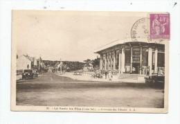 Cp , 44 , LA BAULE LES PINS , L'avenue Des Tilleuls , Ed : A.B. 31 , Voyagée 1926 - La Baule-Escoublac