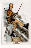 Jeu - Tomb Raider II ( Jeux Vidéo ) - Starring Lara Croft (Alpinisme) - Postcards
