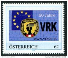 ÖSTERREICH / PM Nr. 8106007 / 60 Jahre Verband Reisender Kaufleute Österreich / Postfrisch / ** - Personalisierte Briefmarken