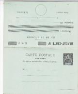 Entier Mandat-carte Réunion Complet - ACEP MC 6 - Cote 180 Euros - Covers & Documents