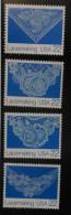 1987 USA Lace Making Stamps Sc#2351-54 Textile Art - Textile