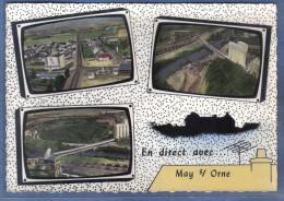 Carte Postale 14. May-su-Orne  Vue D'avion Télévision  Trés Beau Plan - Sonstige Gemeinden
