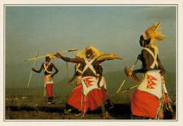 ZAIRE     GOMA:  DANZATORI INTORE'       (NUOVA CON DESCRIZIONE DEL SITO SUL RETRO) - Cartoline