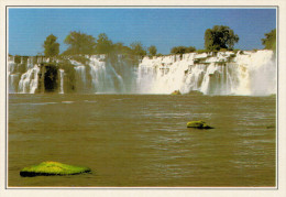 ZAIRE     CASCATE  DI  KYUBO      (NUOVA CON DESCRIZIONE DEL SITO SUL RETRO) - Cartoline