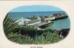 Postcard - Hastings Pier, Sussex. HAS422 - Hastings