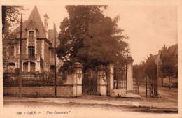"Cpsm ( Genre Cpa Bistre) 14 Caen , Villa Au "" Nice Caennais "" Rue Caponiere - Caen"