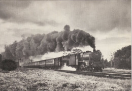 Railway Print LMS Black 5 44979 44698 Culloden Moor 1953 Stanier 4-6-0 Loco - Prints & Engravings