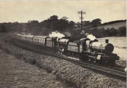 Railway Print GWR 7820 Dinmore Manor Near Totnes 1957 Great Western 4-6-0 Loco - Prints & Engravings